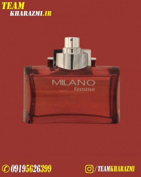 ادکلن قرمز زنانه میلانو 100 میل