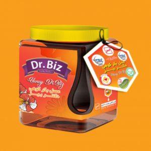 عسل بکر کوهی بیز 500 گرمی ساکاروز زیر 2 درصد